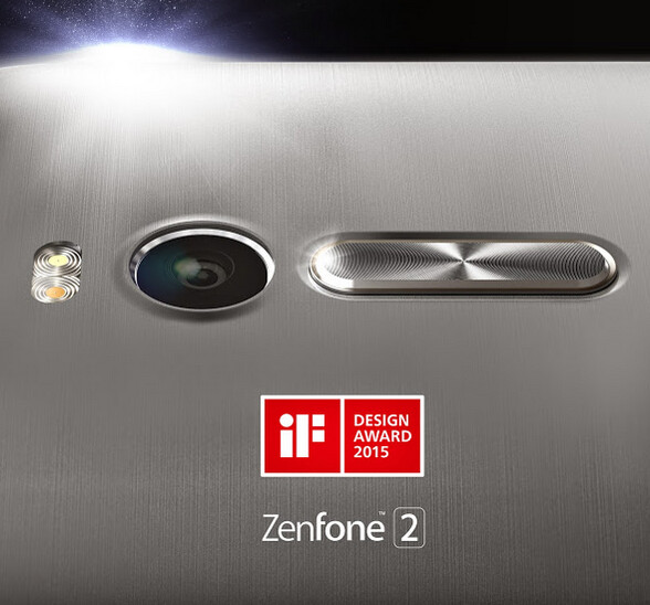Asus ZenFone 2 wins the IF Design Award for 2015 - Asus ZenFone 2 wins IF Design Award; phone to be released on March 9th