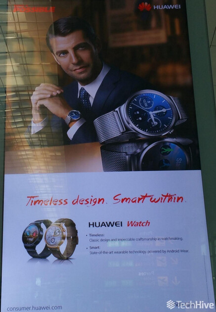 Images of Huawei Watch leak
