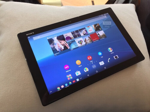 And this is probably the Xperia Z4 Tablet.