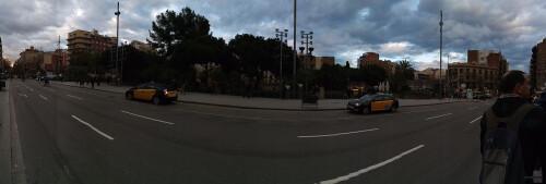 Panoramic shots