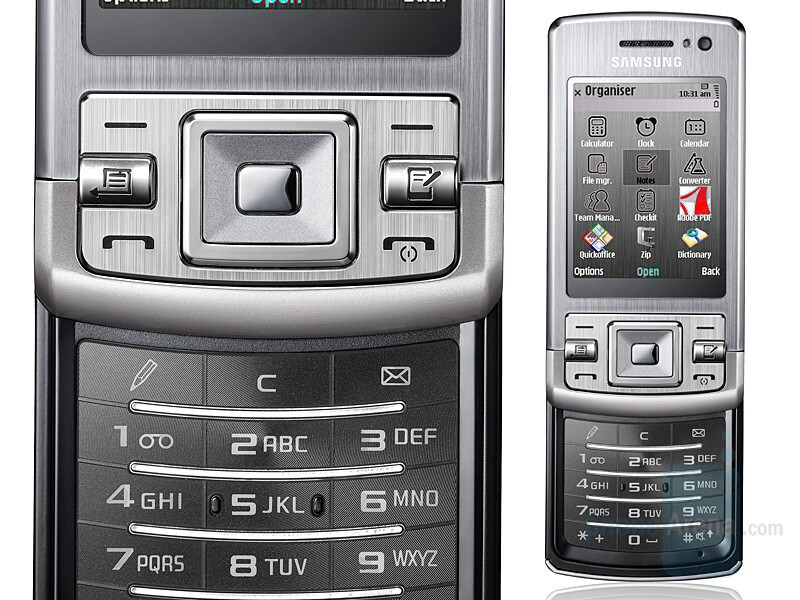 *Update* Samsung L870 is Symbian S60 slider with Safari browser, NOT!