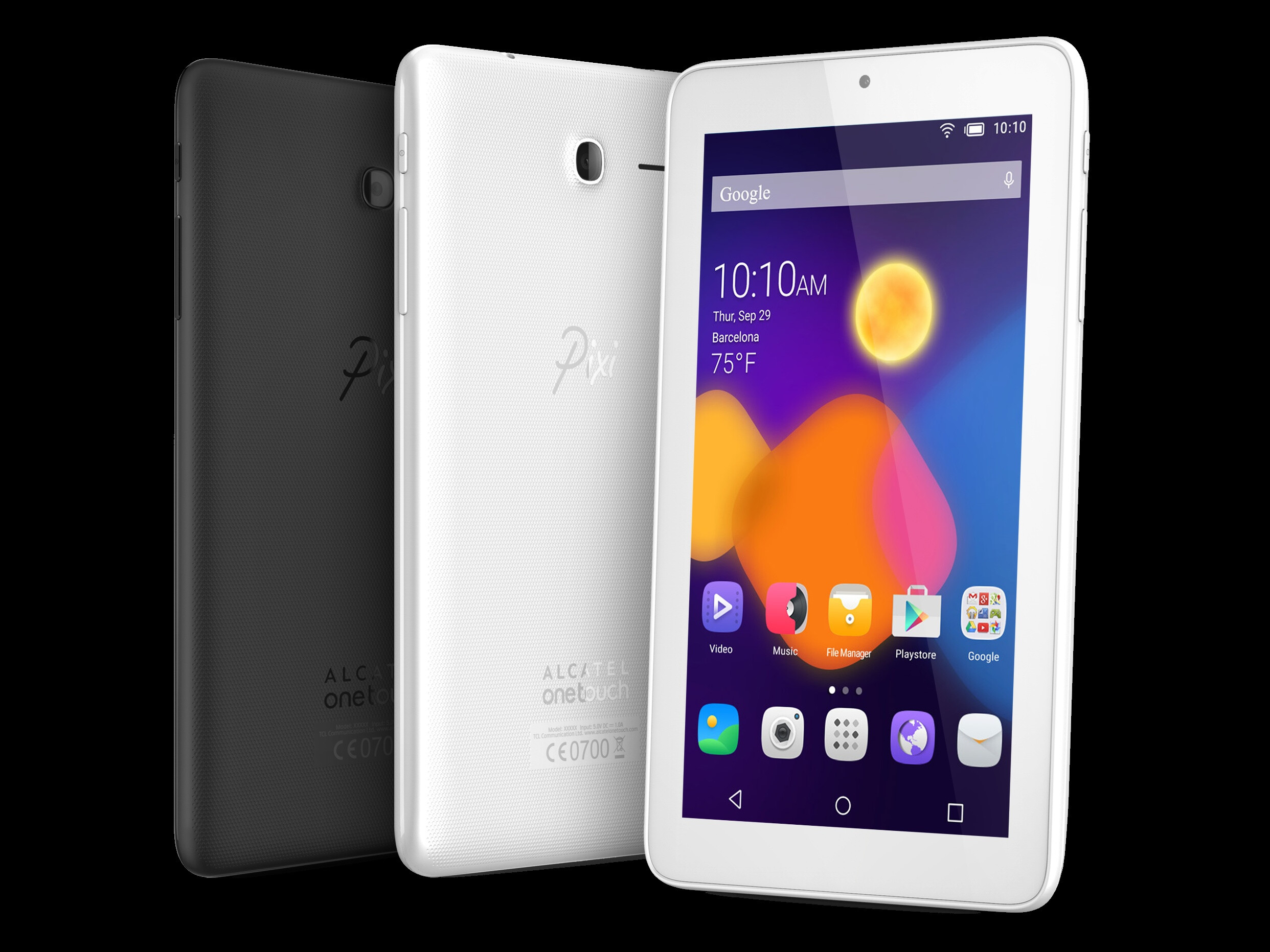 Alcatel OneTouch 3 PIXI: Tablet Android 10 Inch Affordable and with 3G Connection