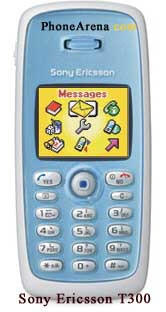 New Sony Ericsson Phones - T200, T300, T600 and T61D