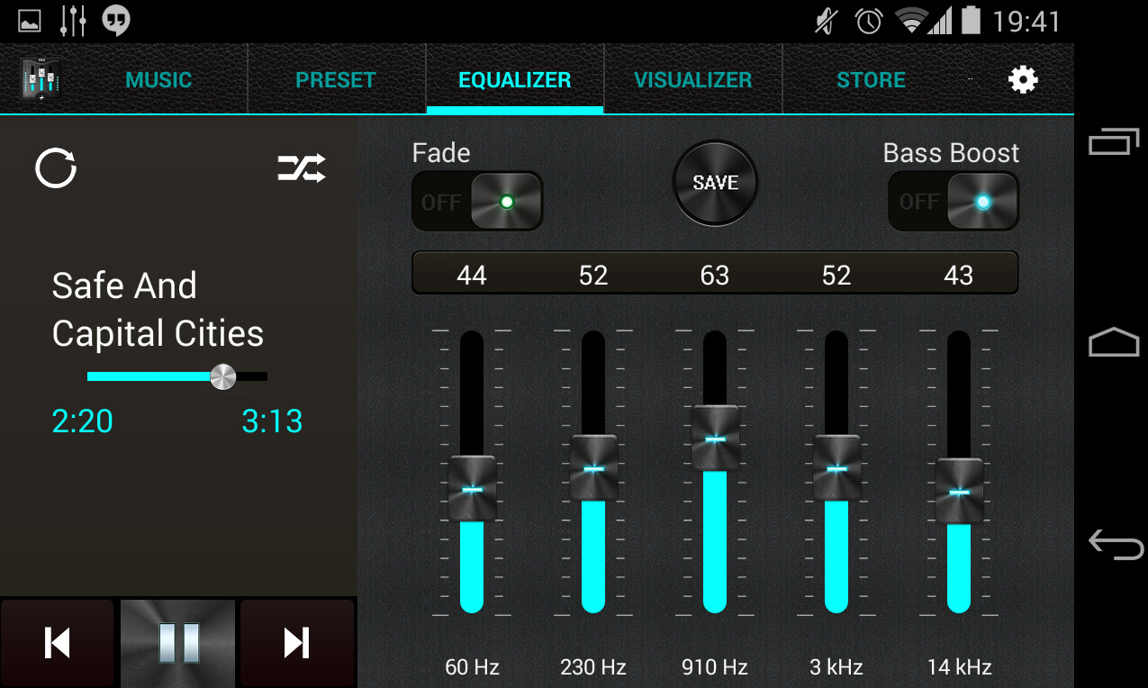 best free music player app android equalizer
