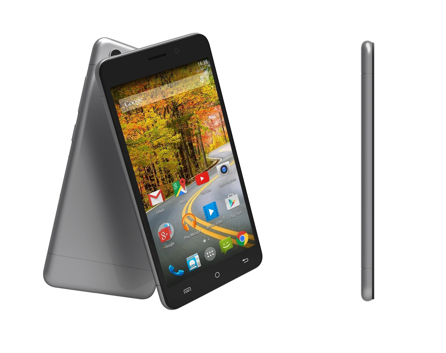 Phone New Android Smart Phones archos shows new budget android smartphones with big displays at mwc 2015