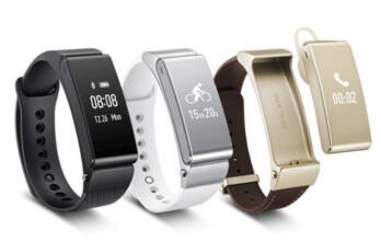 Huawei introduces the Talkband B2 activity smartband and the Talkband N1 stereo headset