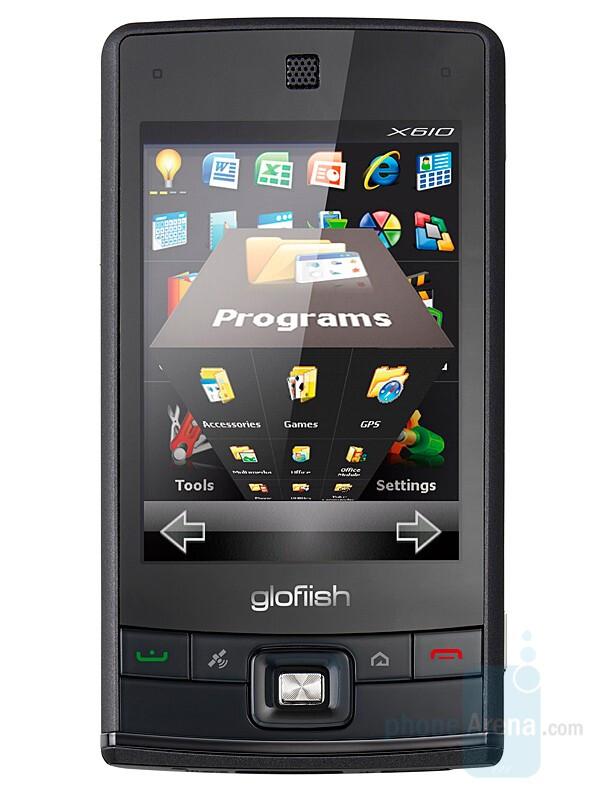 X610 - Eten announced three new Glofiish phones