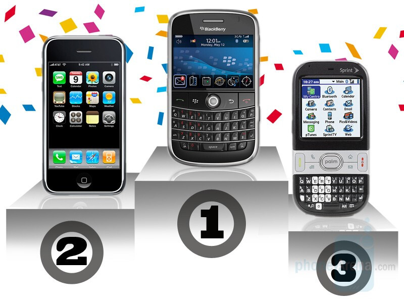 BlackBerry beats iPhone and others in the battle for the smartphone market