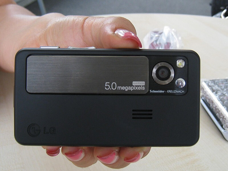LG KC550 is a 5-megapixel cameraphone on a budget