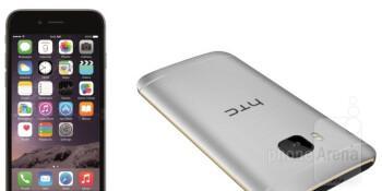 htc one m9 vs apple iphone 6 in depth specs comparison phonearena. Black Bedroom Furniture Sets. Home Design Ideas