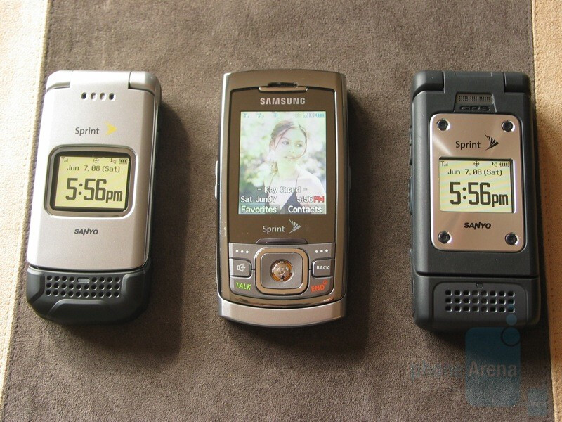 Sanyo PRO-200, Samsung m520, PRO-700 - Hands-on with the Sanyo PRO Series