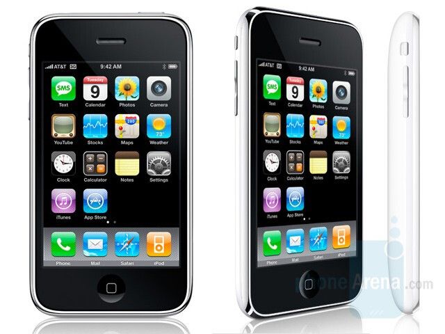 White - Apple's iPhone 3G is now official
