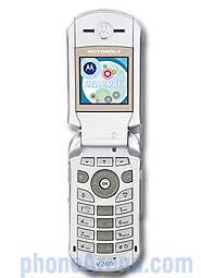 Motorola V260 available from Verizon Wireless