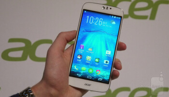 Acer Liquid Jade Z hands-on: mid-range hardware and LTE for 199 euro
