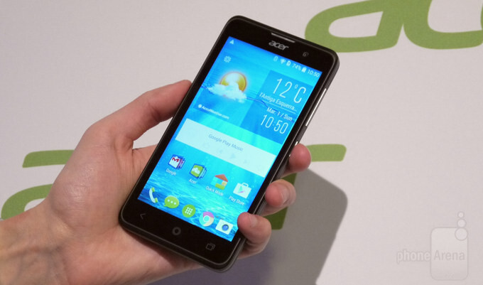 Acer Liquid Z520 hands-on: large screen meets low price point