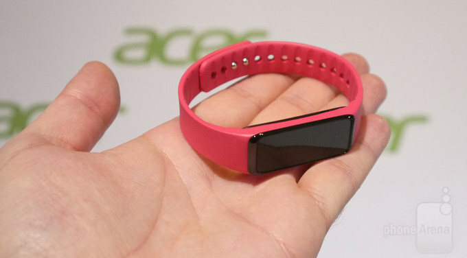 Acer Liquid Leap+ smart fitness band hands-on