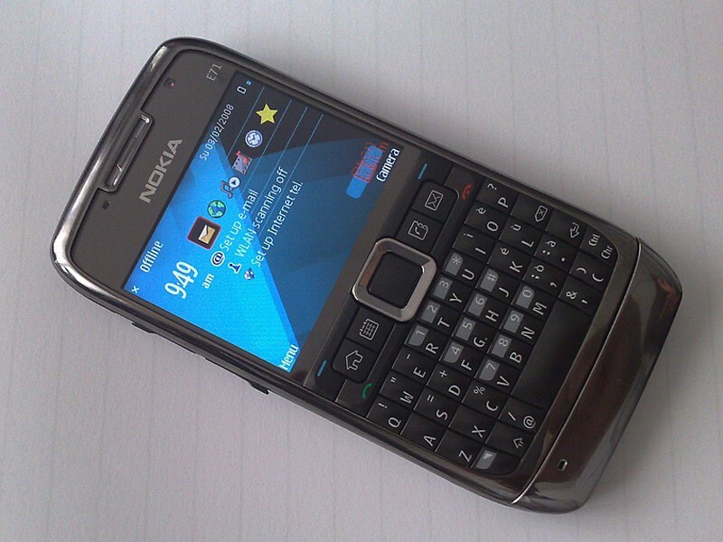 Nokia E71 - First photos of Nokia N85, N79, 5800 and others …