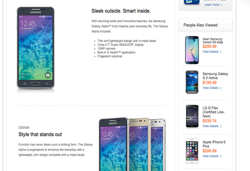 Samsung Galaxy S6 Or The S6 Edge Spot The Six Differences