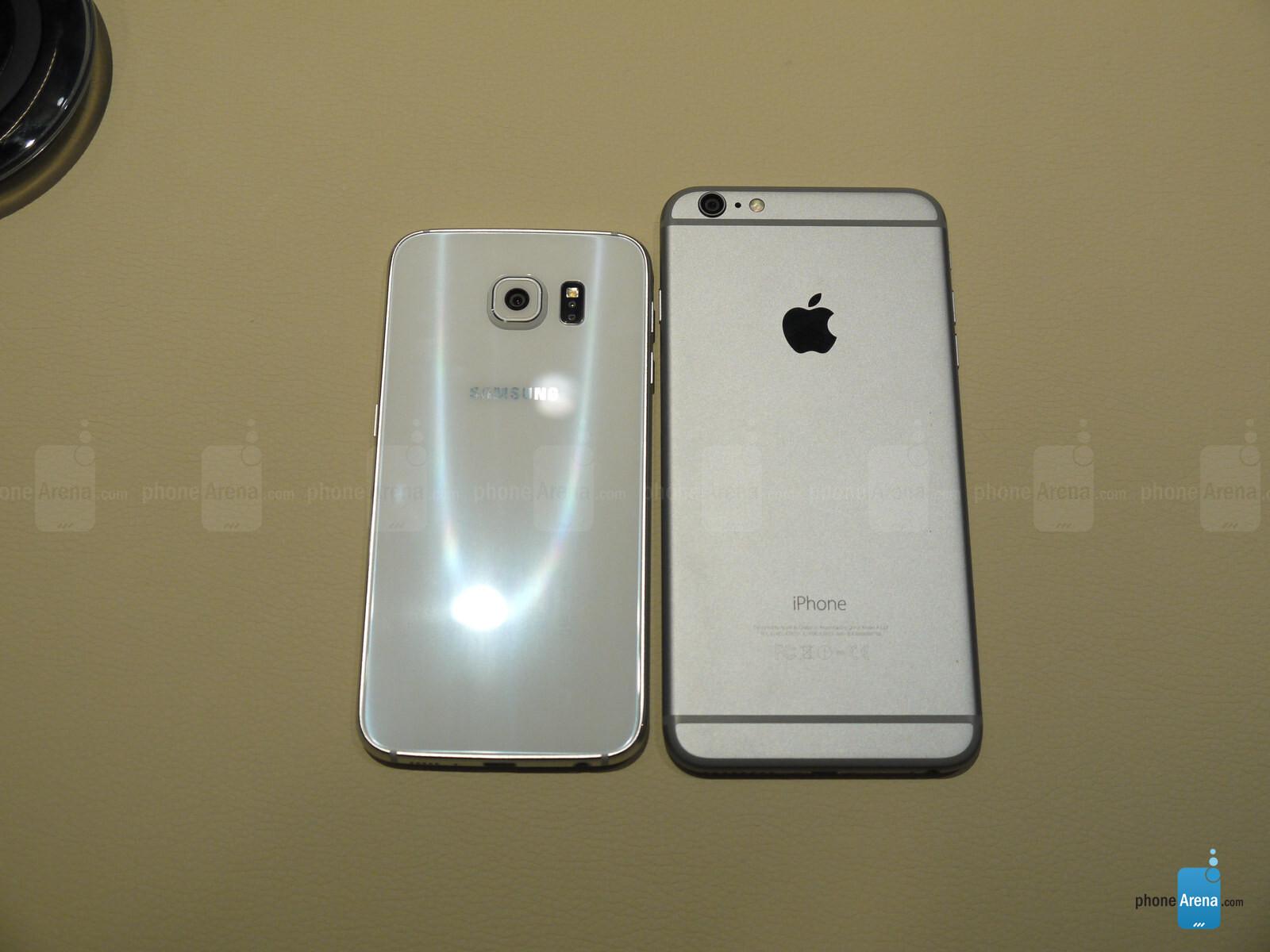 samsung galaxy s6 vs iphone 6 plus