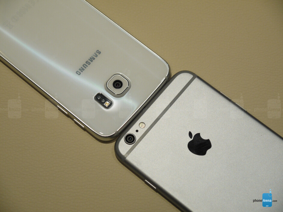 Samsung Galaxy S6 vs Apple iPhone 6 Plus: first look