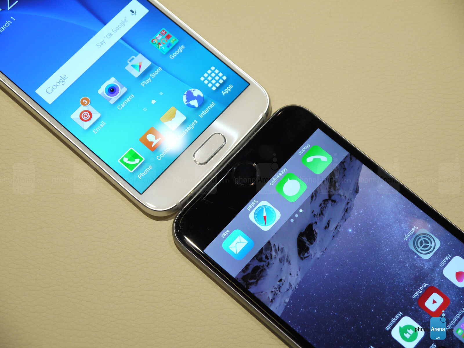 iPhone 6 vs Samsung Galaxy S6 Plus