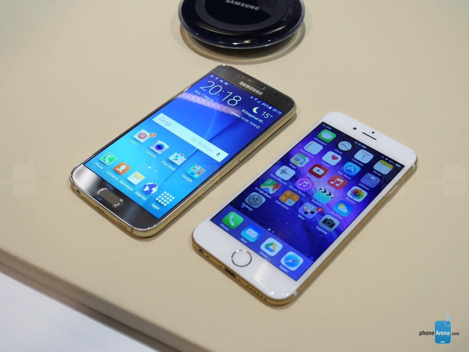 samsung galaxy s6 vs iphone 6 plus size. display. the display is window to your smartphone\u0027s potential. samsung galaxy s6 and iphone 6 vs iphone plus size