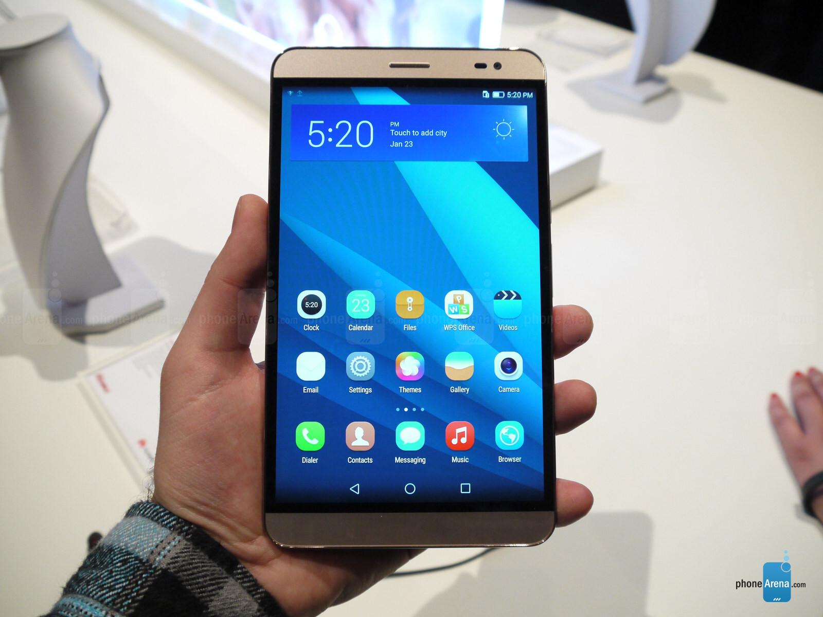 Huawei MediaPad X2 hands-on