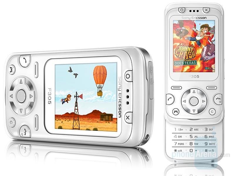 F305 - Sony Ericsson announced 5 new models