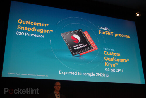 Snapdragon 820 unveiled: coming with Kryo CPU, Qualcomm's first custom 64-bit core