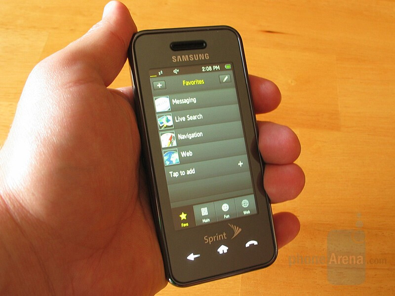 Hands-on with the Samsung Instinct