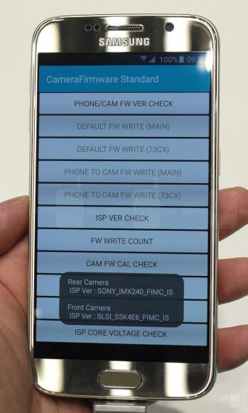Samsung Galaxy S6 and Galaxy S6 edge use the Sony IMX240 camera sensor