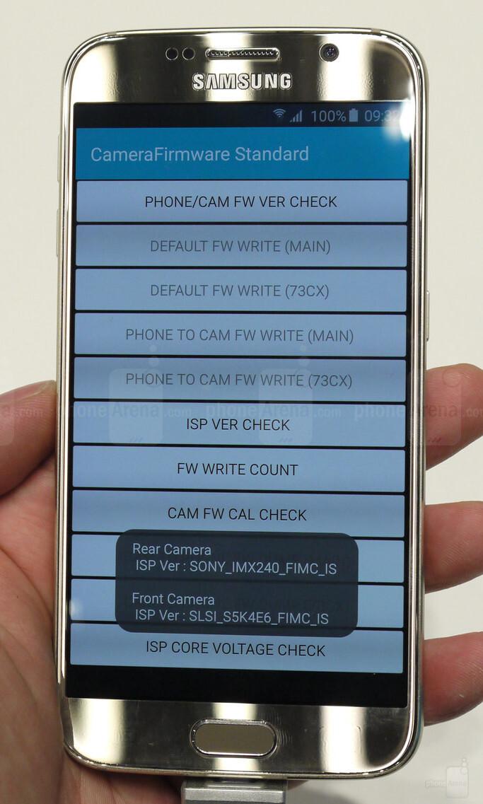 Galaxy S6 Kamera Sensor