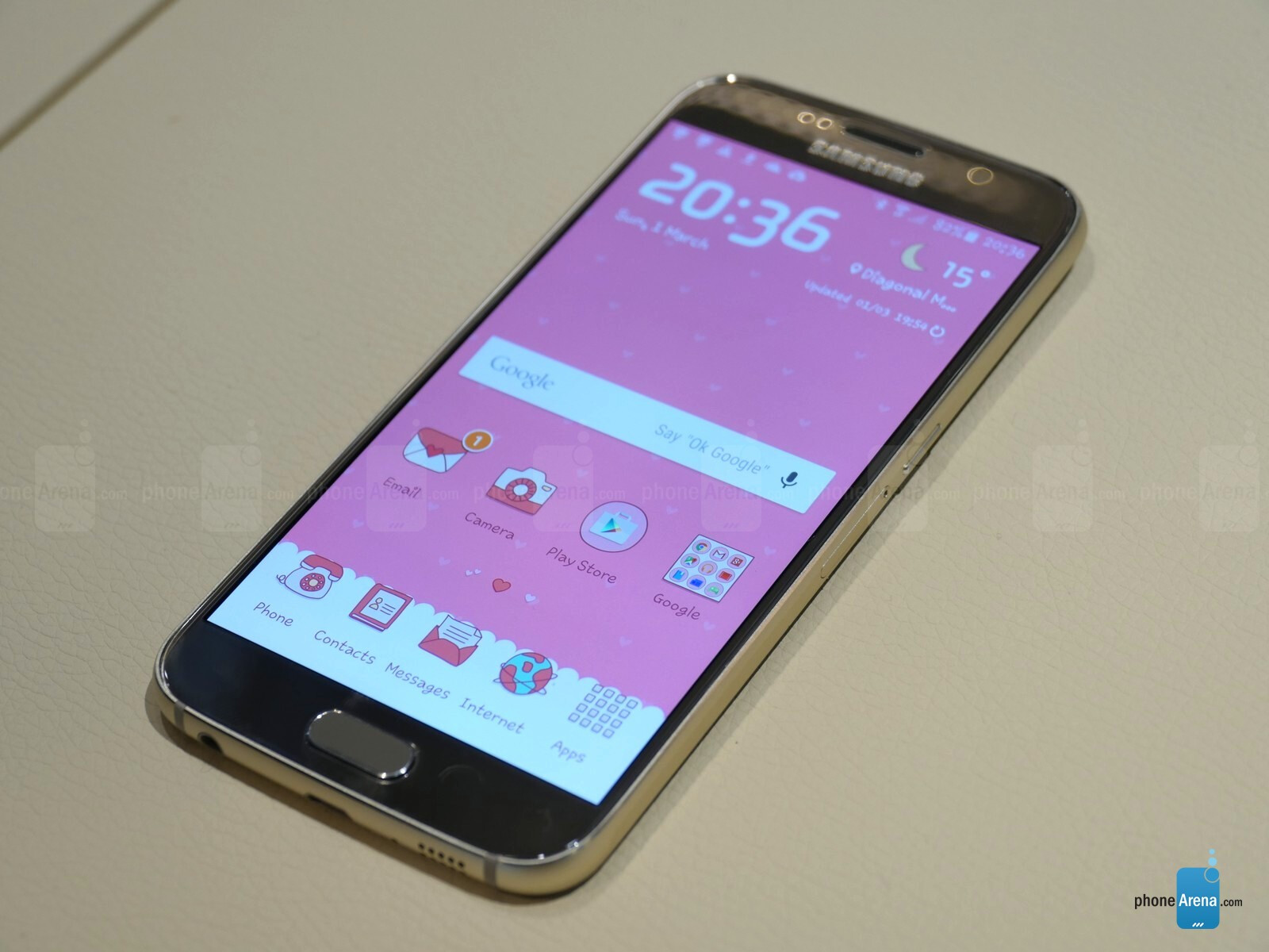A look at the Galaxy S6's powerful TouchWiz Themes