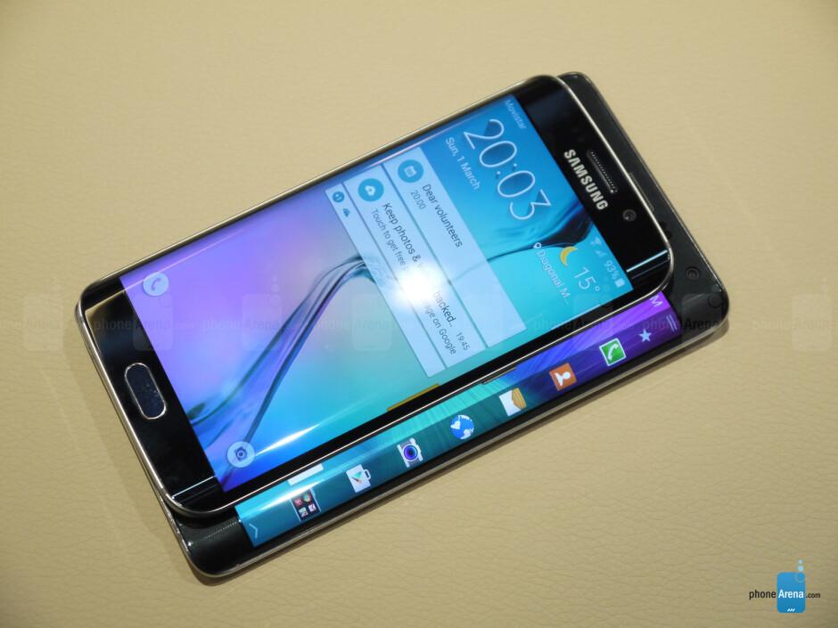 Samsung Galaxy S6 Edge vs Galaxy Note Edge: first look