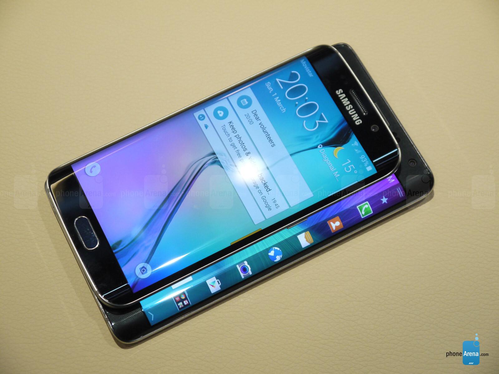 Samsung Galaxy S6 Edge Vs Galaxy Note Edge First Look