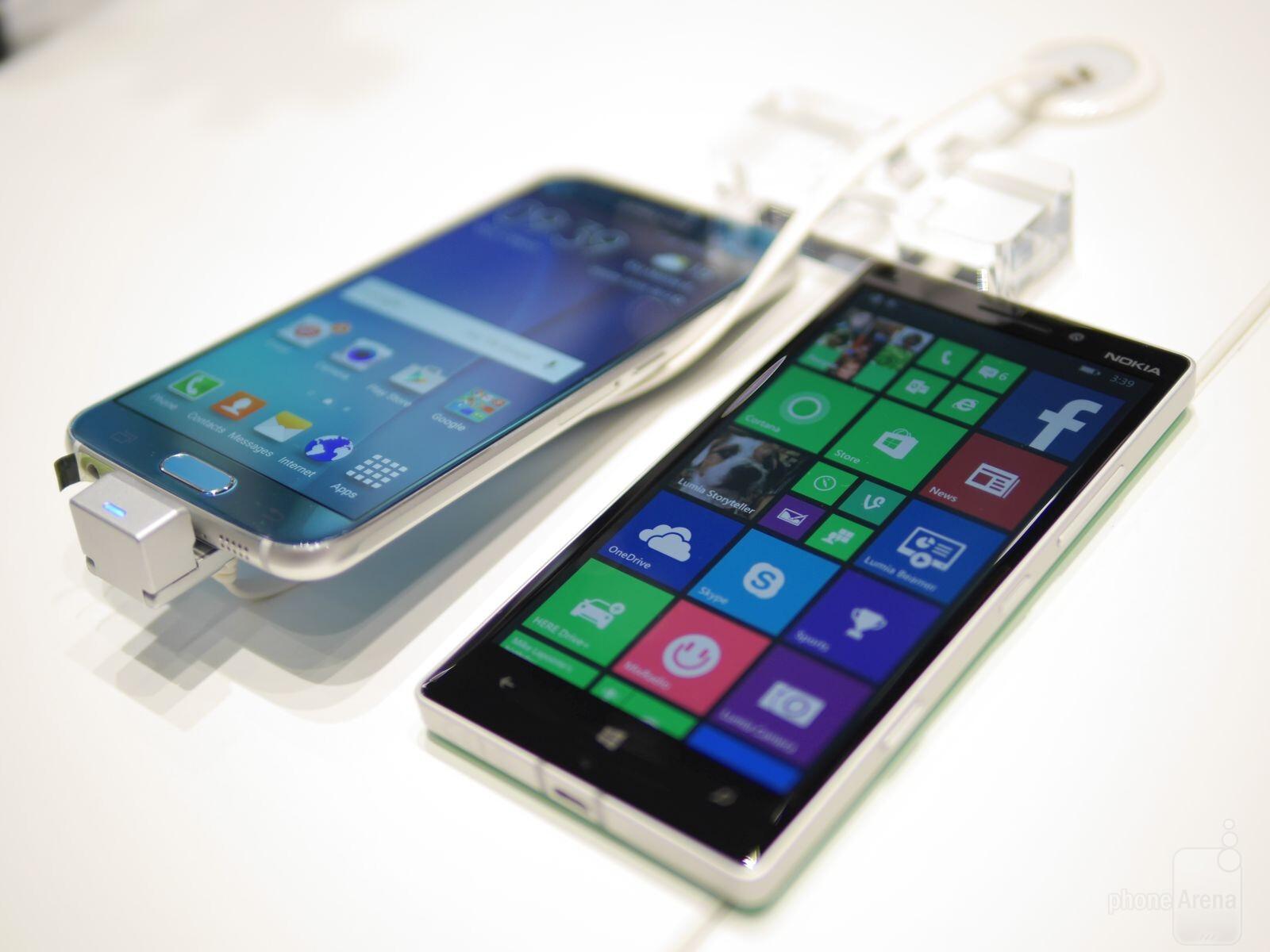 Samsung Galaxy S6 edge vs Nokia C6 01