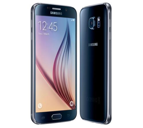 Samsung Galaxy S6, Black Sapphire.