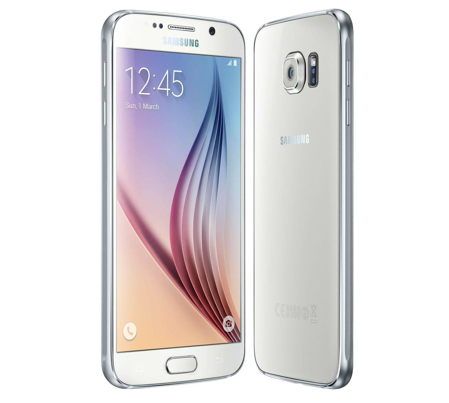... stock samsung galaxy s6 32gb white pearl mobile phone samsung s6 wh 15