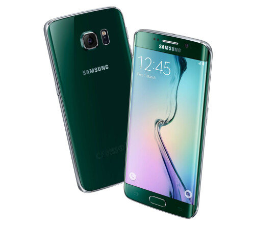 Samsung Galaxy S6 edge, Green Emerald.