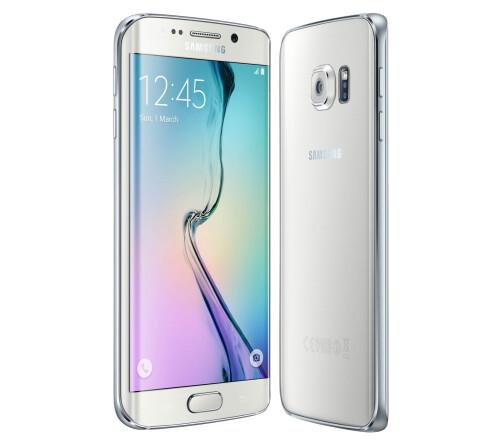Samsung Galaxy S6 edge, White Pearl.
