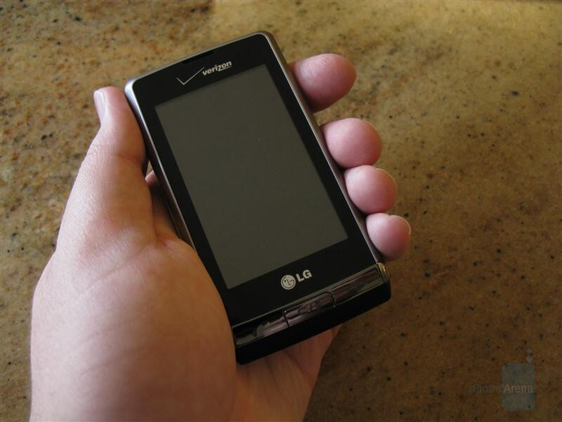 Hands-on preview of the LG Dare