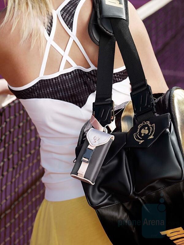 IDC-31 - Maria Sharapova and Sony Ericsson introduced accessories line