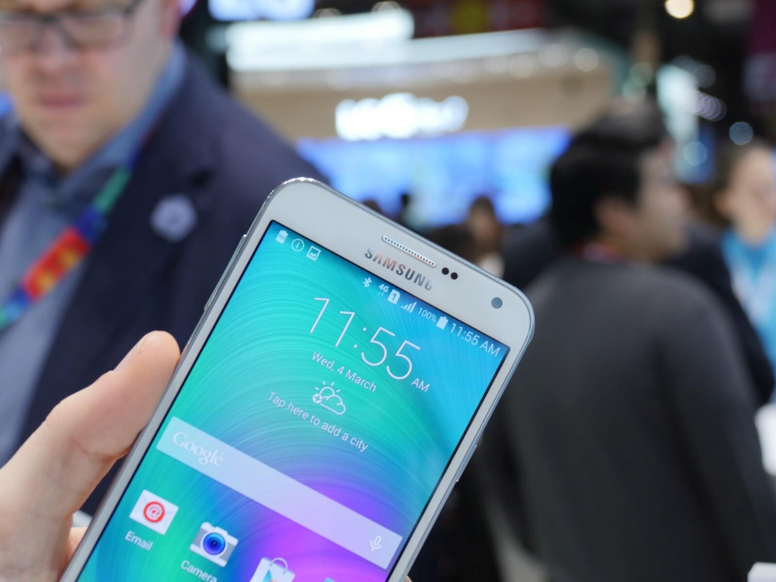 Samsung Galaxy E7 hands on a decent mid ranger