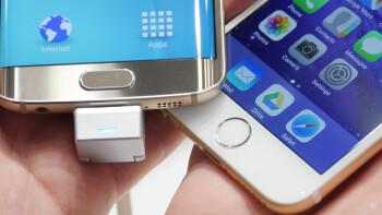 Samsung Galaxy S6 fingerprint scanner vs Apple iPhone 6 TouchID