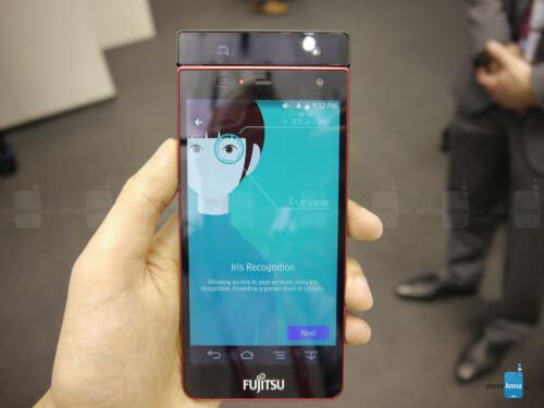 Fujitsu's iris scanner concept