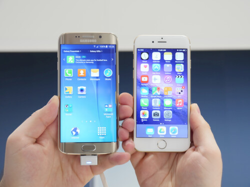 Galaxy S6 edge vs iPhone 6