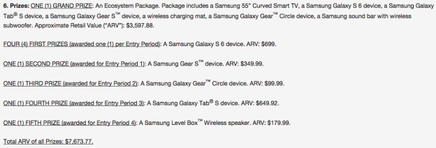US retail price for the Galaxy S6 leaks from a T-Mobile giveaway - higher than the iPhone 6