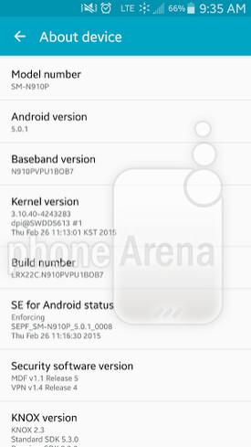 Sprint Samsung Galaxy Note 4 is updated - Sprint's Samsung Galaxy Note 4 updated to Android 5.0.1