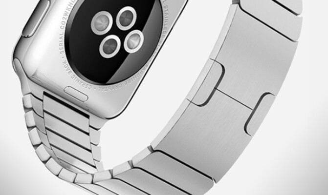 Not much room for an engraving here - Report says that you will be able to engrave a personal message on the Apple Watch
