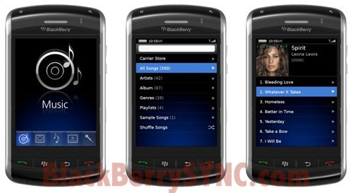 First BlackBerry Thunder OS pictures